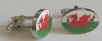 Wales Country Flag Cufflinks